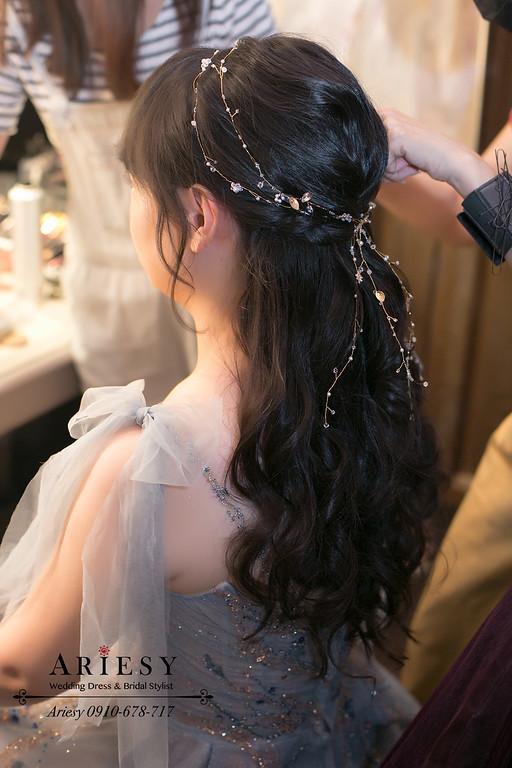 君品飯店,ARIESY,愛瑞思,新秘,新娘秘書,黑髮新娘,新娘造型,第九大道
