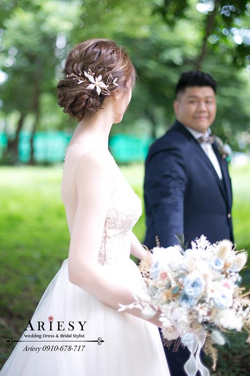台北新秘推薦,愛瑞思ARIESY,新娘造型,新娘捧花,新秘,新娘秘書