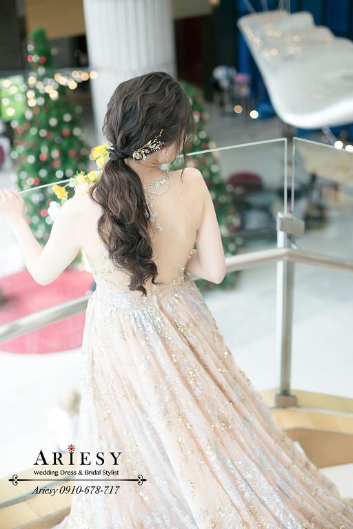 敬酒造型,馬尾新娘造型,新娘髮型,桃園新秘,林莉婚紗禮服,新娘秘書