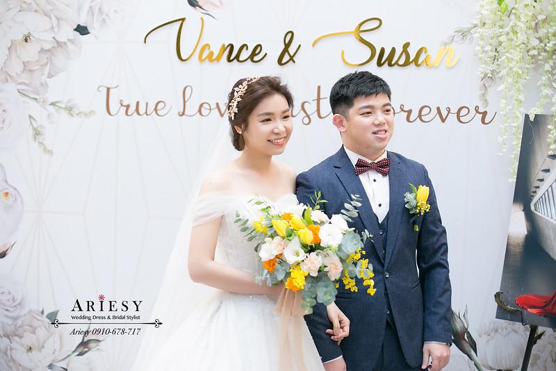 韓系白紗造型,新娘秘書,桃園新秘,愛瑞思,ARIESY婚紗禮服,新娘白紗髮型