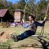 best man on a swing