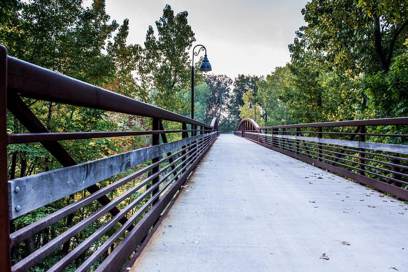 KM 965 - Fall on Fox Cities Trestle Trail Bridge