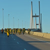 2016 Southeast Georgia Health System Bridge Run over the Sidney Lanier Bridge in Brunswick, Georgia D700 02-13-16