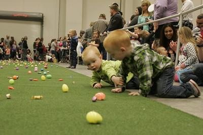 Bridge View Easter egg hunt