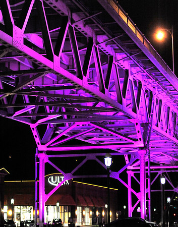 Bridge at The Waterfront in Honor of Prince's Death