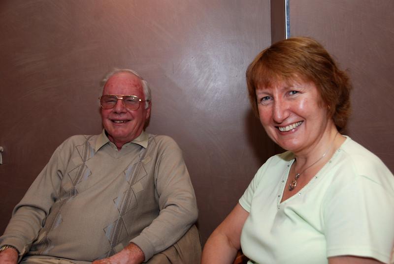 Russell McClymont and Maureen Pattinson