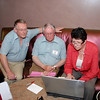Paul Porteous (NPC, ROI), Bob Pattinson and Liz Taaffe watching a match on Bridge Base Online...