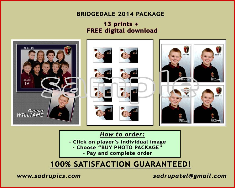 2014-15 Bridgedale Academy Photos