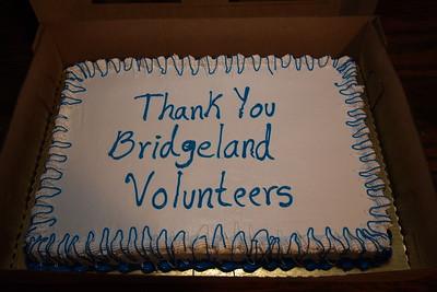 Bridgeland Volunteer Appreciation Dinner:  January 19, 2006