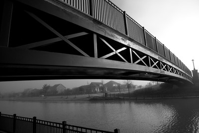 Bridgeland_Lakeland_Heights_Bridge_fog_B&W_RAW0007