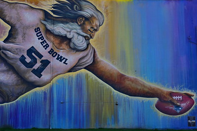 Cistern trip & Wall Murals Around Houston