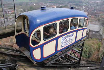 Bridgnorth Cliff Railway April 2014