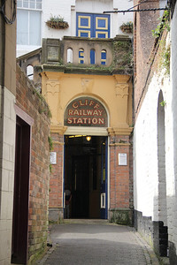 Bridgenorth Cliff Raiway Lower Station Access Apr 14
