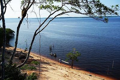 THE BLUE AMAZON RIVER