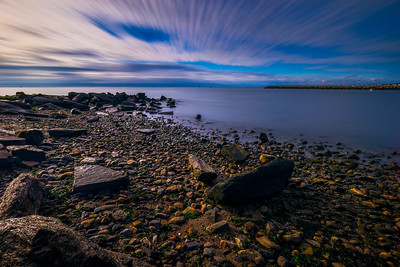 Long Exposure image taken at St Mary's by The Sea in Bridgeport, Connecticut, USA.