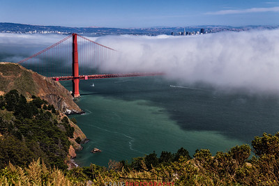 Golden Gate and fog #1