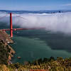 Golden Gate and fog #1