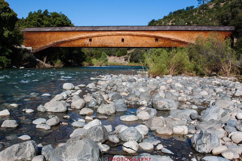 Bridgeport Covered Bridge, Nevada County, CA