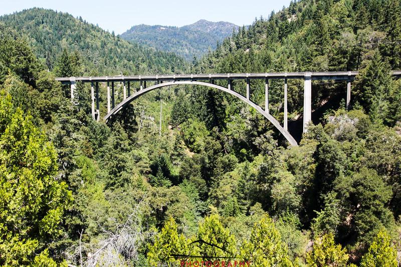 Cedar Creek Bridge, Legget, CA