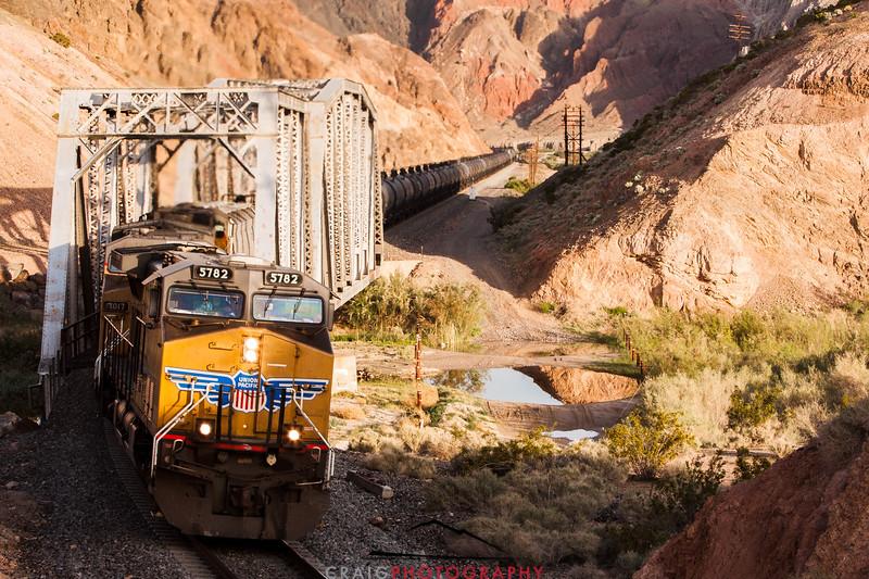 Afton Canyon Railroad Bridge #3