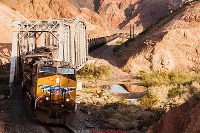 Afton Canyon Railroad Bridge #3