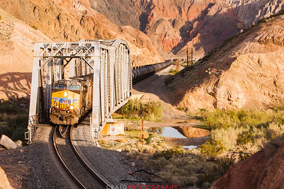 Afton Canyon Railroad Bridge #3, Barstow, CA