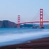 Golden Gate Bridge time exposure