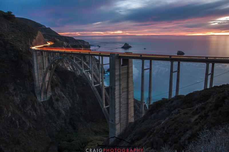 Bixby Creek Bridge, Hwy 1, Monterey County, CA #1