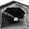 Black and White Old Bridge