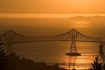 Astoria-Megler Bridge Canon EF 70-300mm f/4-5.6 IS USM