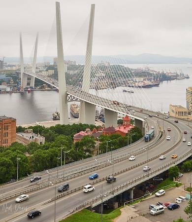 """Zolotoy """"Golden"""" Bridge - Vladivostock, Russia - 2012"""