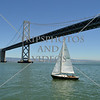 The San Francisco-Oakland Bay Bidge in California.