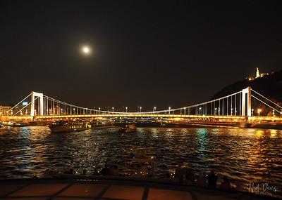 Elisabeth Bridge, Budapest, Hungary - 1964