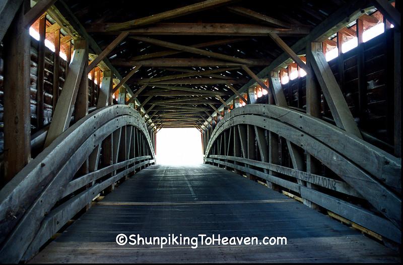 Greisemer's Mill Covered Bridge, Berks County, Pennsylvania