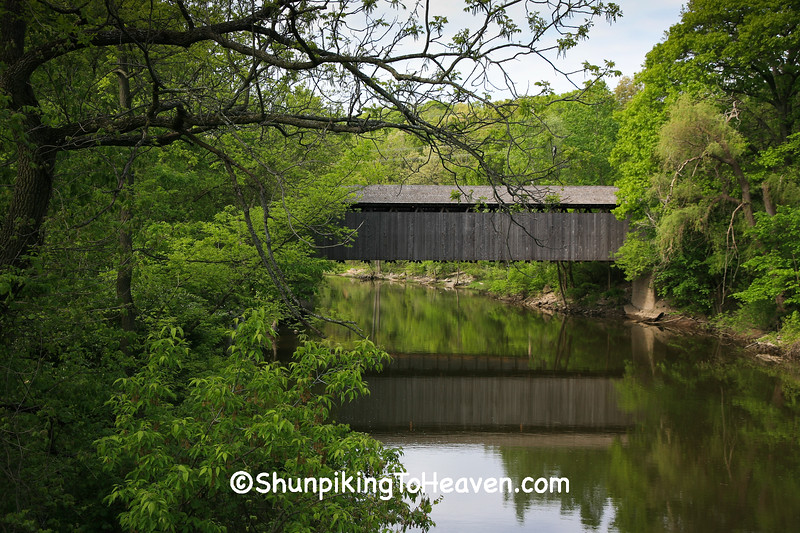 Ada Covered Bridge, Kent County, Michigan
