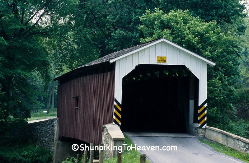 Neff Mill Covered Bridge, Lancaster County, Pennsylvania