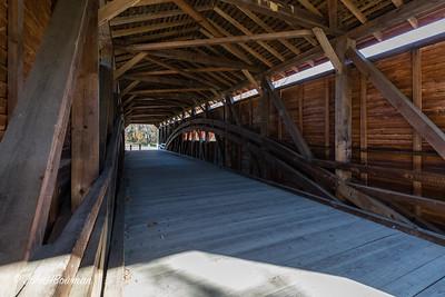 Interior, Gilpin's Falls Bridge - Cecil County