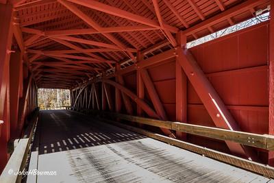 Interior, Jericho Bridge - Baltimore & Harford Counties