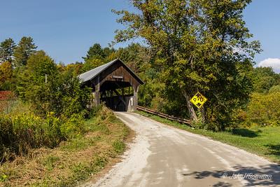 Coburn Covered Bridge - Washington County, VT