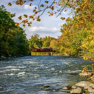West Cornwall Bridge & Housatonic River - Litchfield County (CT)