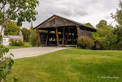 "Shelburne Museum - ""Double-barrel"" Covered Bridge"