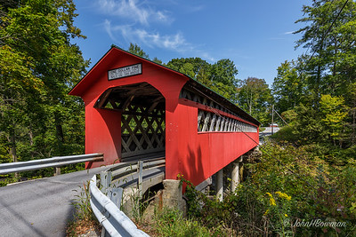 Chiselville Covered Bridge - Bennington County, VT