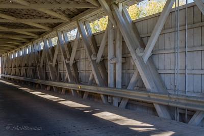 Interior, McColley Bridge - Logan County