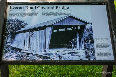 Everett Road Bridge Sign - Summit County