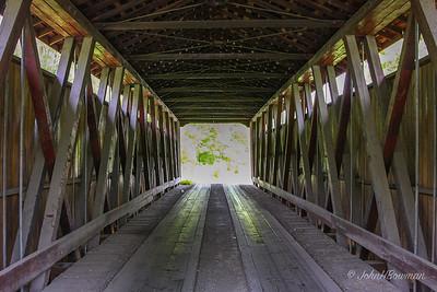Interior, Kidwell Bridge - Athens County
