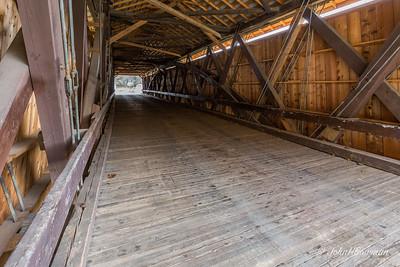 Interior, Otway Bridge - Scioto County