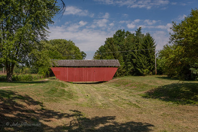 Hartman Bridge & Dry Ohio & Erie Canal - Fairfield County