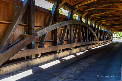 Interior, Pine Grove Bridge - Chester & Lancaster Counties