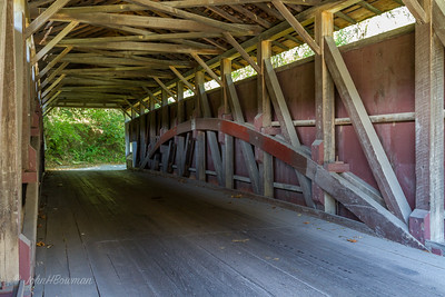 Interior, Mercer Bridge - Chester & Lancaster Counties