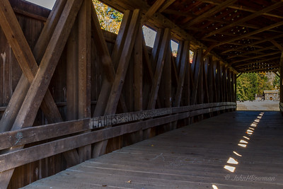 Interior, Staats Mill Bridge - Jackson County